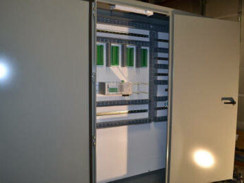 Open panel